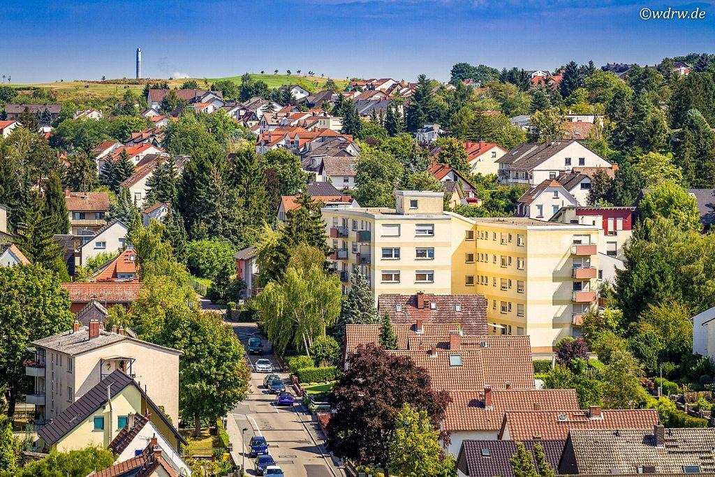 Budenheim von oben