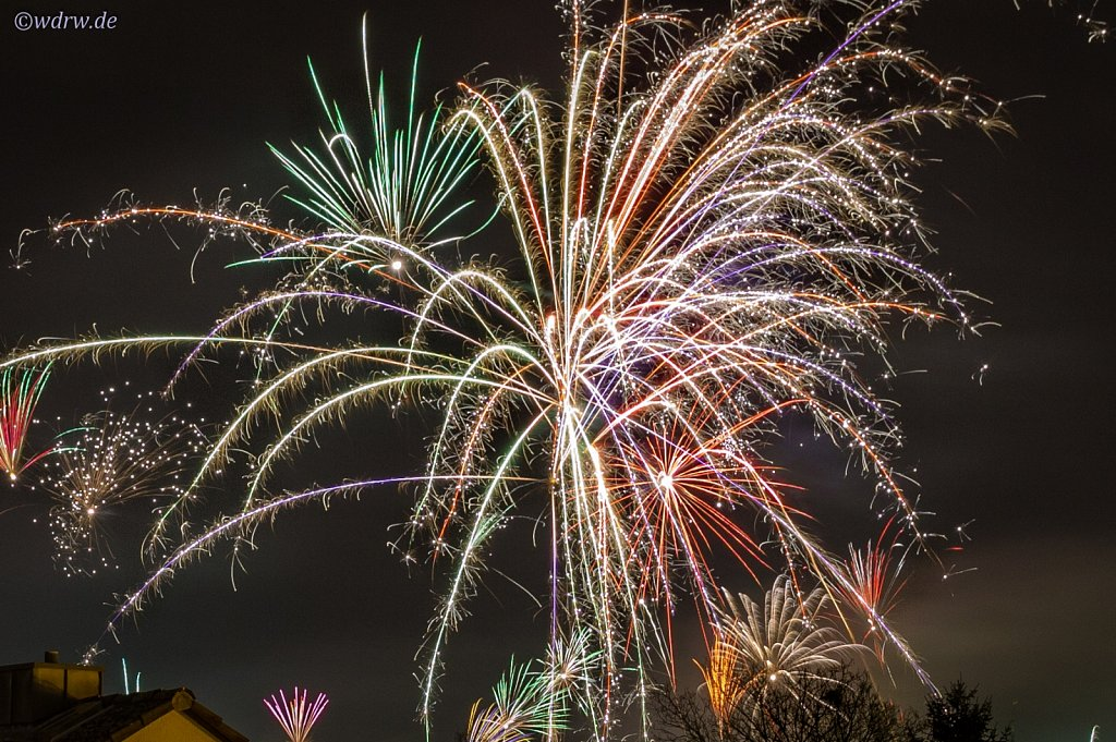 Silvester - Feuerwerk